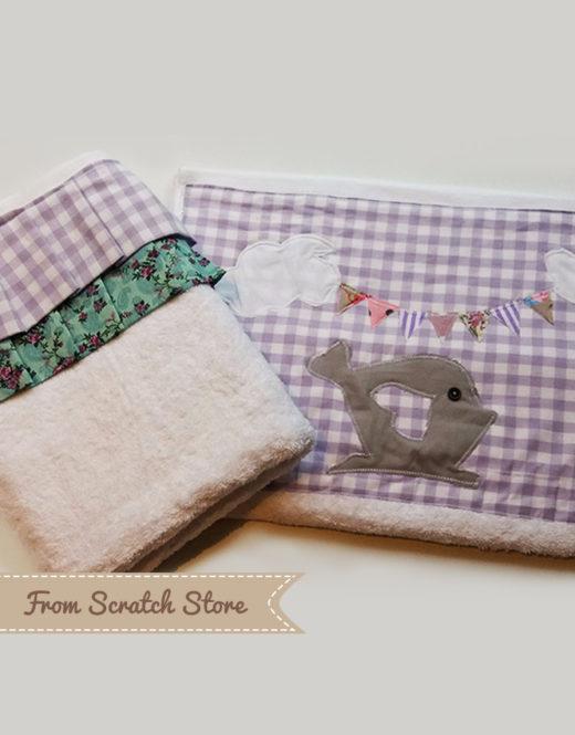 Χειροποιήτες πετσέτες μπάνιου Tweet tweet | From Scratch Store
