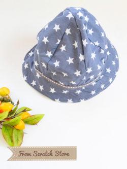 Καπέλο αστεράκι για αγόρι | From Scratch Store