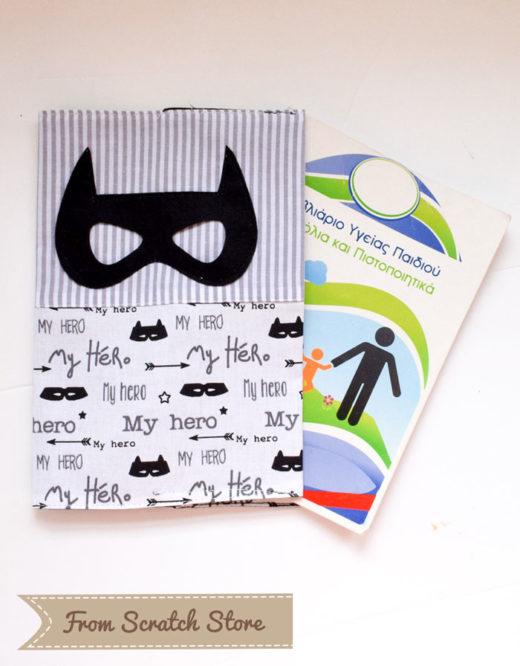 Θήκη βιβλιαρίου Hero | From Scratch Store