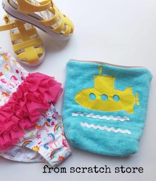 Handmade νεσεσέρ αδιάβροχη επένδυση Μπλουμ Μπλουμ | From Scratch Store