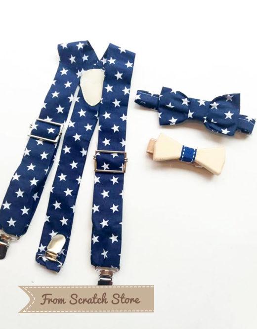 Τιραντούλες αστεράκια Blue   From Scratch Store