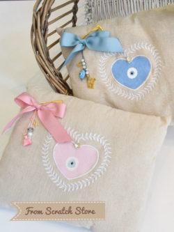 Handmade μαξιλάρια | From Scratch Store