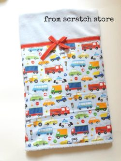 Χειροποίητη παιδική Κουβέρτα Μέσα Μεταφοράς| From Scratch Store