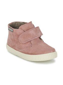 Παιδικά sneaker ψηλά σε ροζ χρώμα από την ισπανικήαπό τη μάρκα Victoria   From Scratch Store