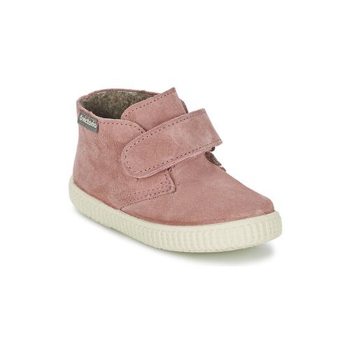 Παιδικά sneaker ψηλά σε ροζ χρώμα από την ισπανικήαπό τη μάρκα Victoria | From Scratch Store