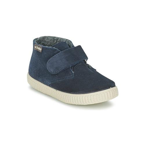 Παιδικά παπούτσια SAFARI SERRAJE VELCRO Μπλε | From Scratch Store