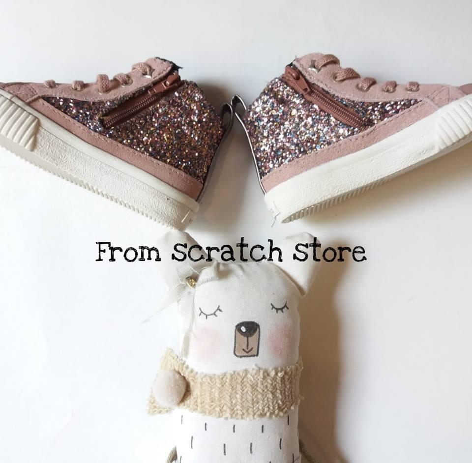 03588f37c49 Παιδικά παπούτσια σε ροζ συνθετικό δέρμα | From Scratch Store