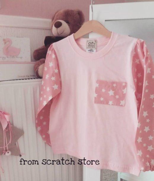 Handmade t-shirt παιδικό με μακρύ μανίκι | From Scratch Store