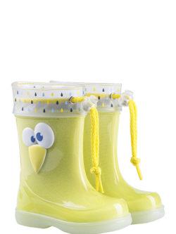 Παιδικές γαλότσες Igor σε κίτρινο χρώμα | From Scratch Store