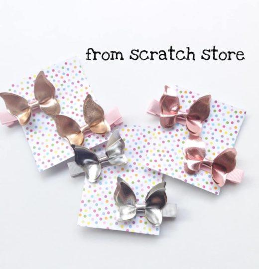 Κλιπ μαλλιών παιδικό πεταλούδα | From Scratch Store