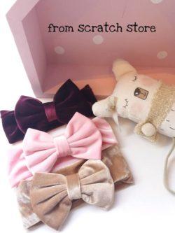 Παιδικές χειροποίητες βελούδινες στέκες | From Scratch Store