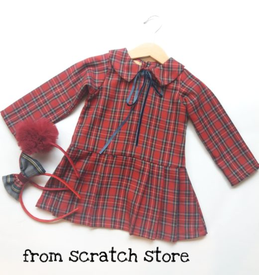 Φόρεμα Σκωτσέζικο Καρό / From Scratch Store
