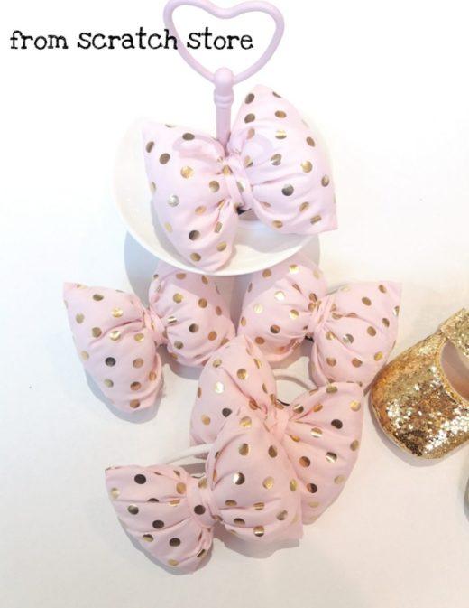 Φιογκολαστιχάκι Ροζ Χρυσό / From Scratch Store