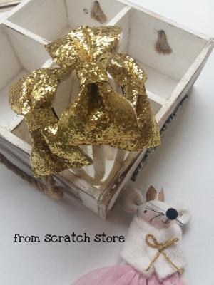 Στέκα Golden Glitter - From Scratch Store