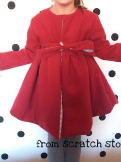 Παλτό Κόκκινο / From Scratch Store