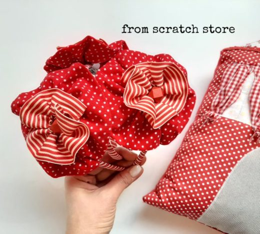 Στέκα Ροζέτα Κόκκινο / From Scratch Store