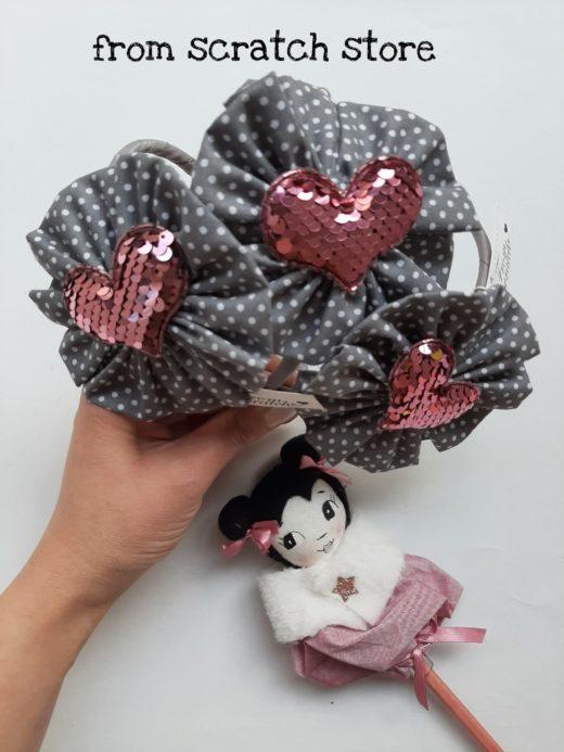 Στέκα Ροζέτα Καρδιά
