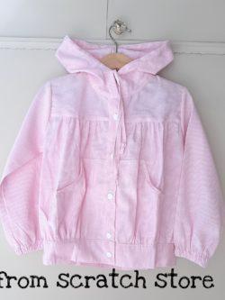 Jacket Ριγέ Ροζ