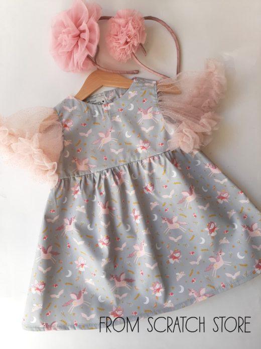 Φόρεμα Μονοκεράκια