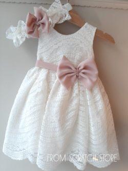 """Βαπτιστικό Φόρεμα """"Ellie"""""""