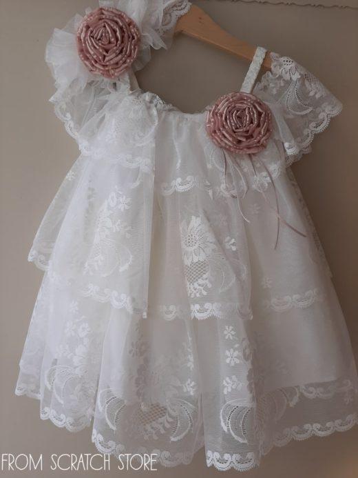 """Βαπτιστικό Φόρεμα """"Tammy"""""""