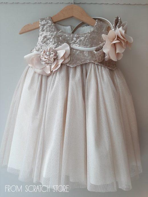 """Βαπτιστικό Φόρεμα """"Crystal"""""""