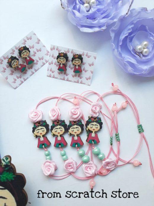 Σκουλαρίκια Βραχιολάκι Frida Kahlo