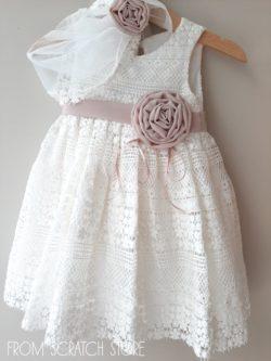 """Βαπτιστικό Φόρεμα """"Beth"""""""