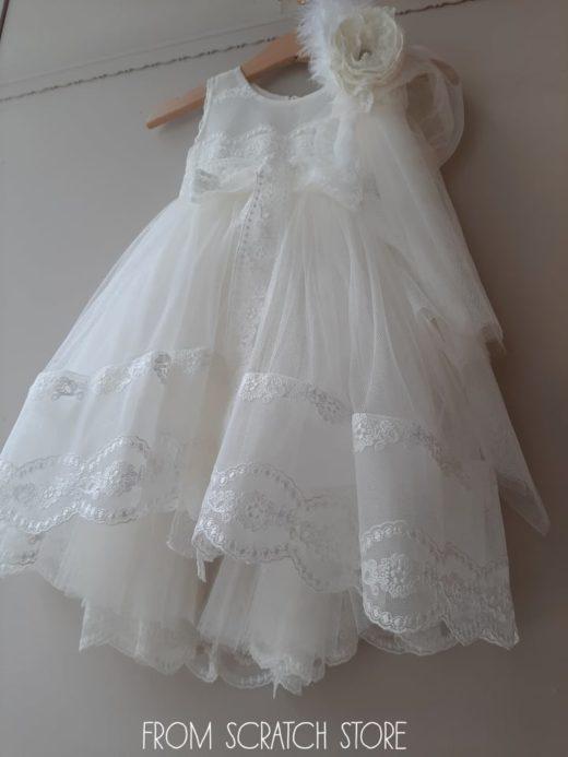 """Βαπτιστικό Φόρεμα """"Melissa"""""""