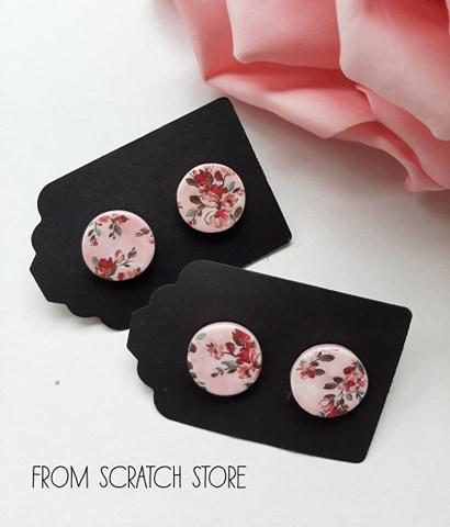 Σκουλαρίκια Floral