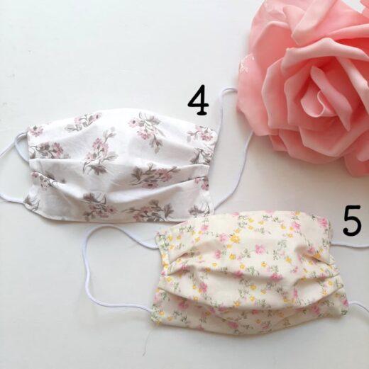 Μάσκες Προστασίας Floral *4*5