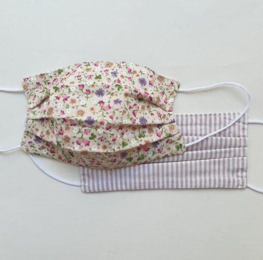 Μάσκες Προστασίας Lilac Floral